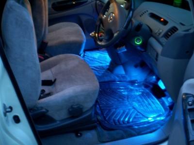 Светодиоды на автомобиле