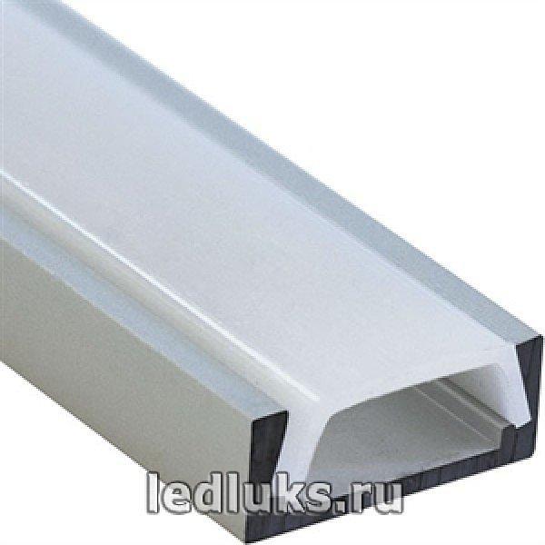 Профиль накладной для ленты 2м CAB 262