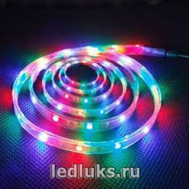 Светодиодная лента 30D 5050 7.2W IP33 Цвет: RGB